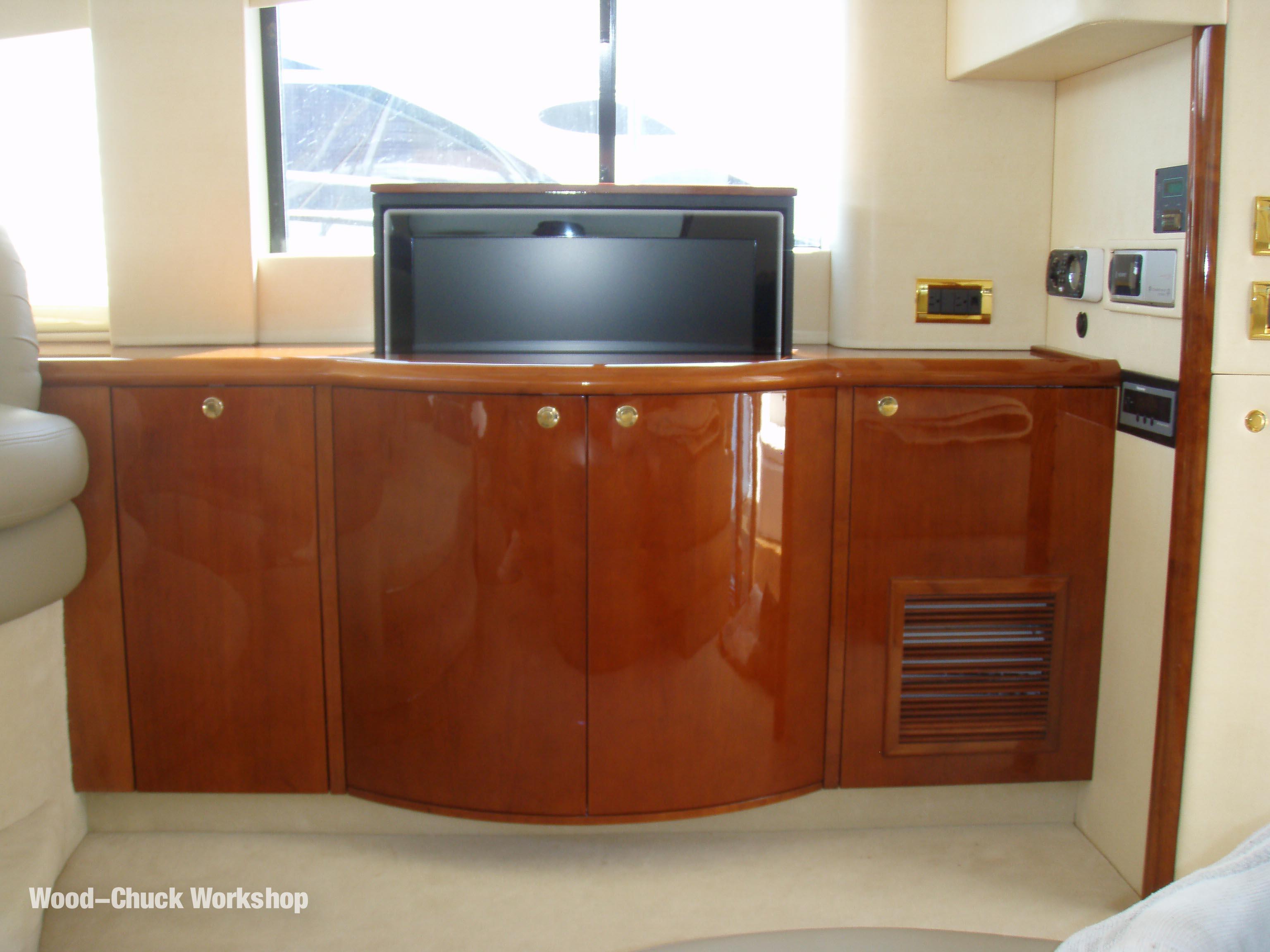 Custom Yacht Carpentry By Woodchuck Workshop