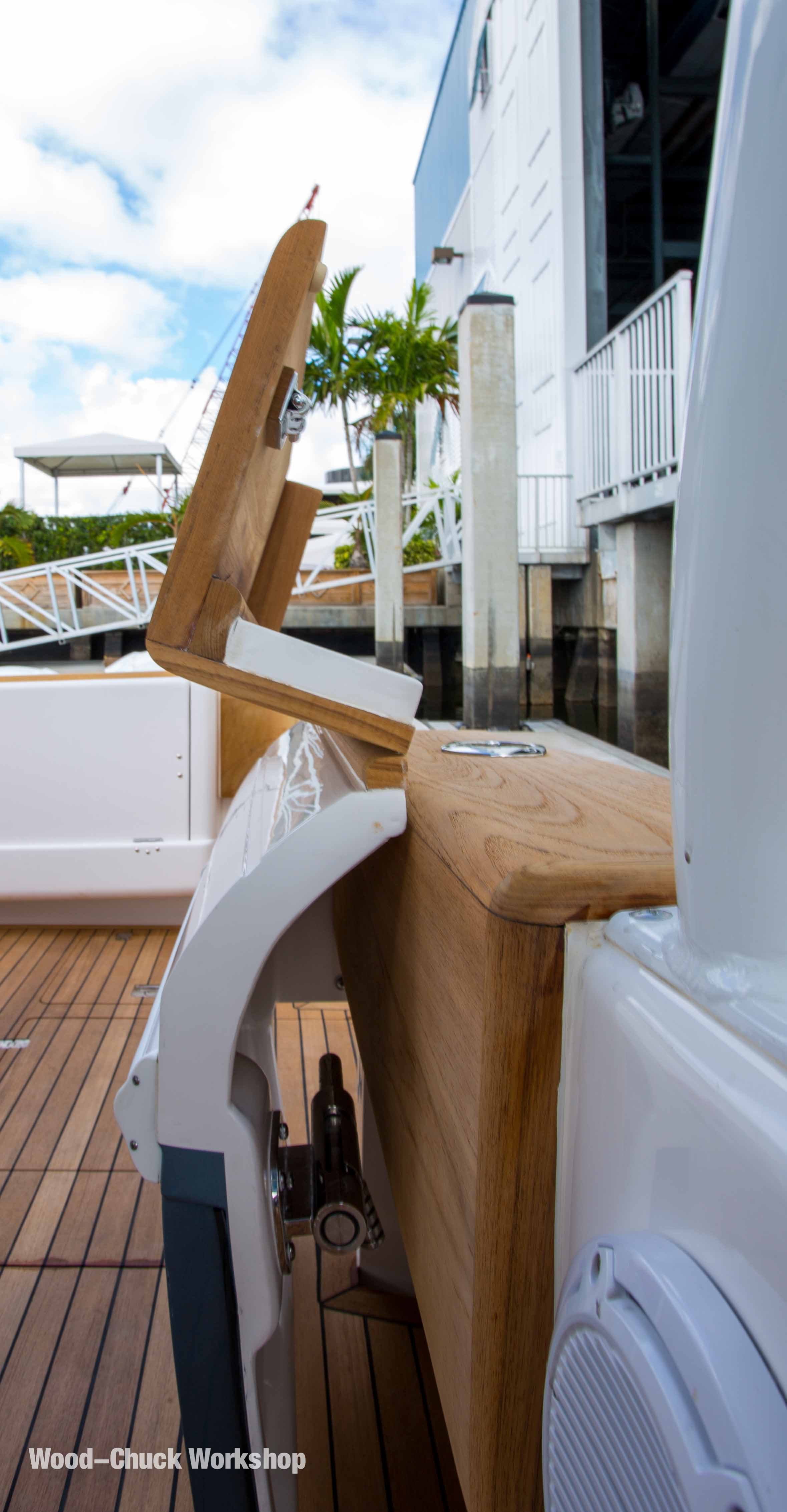 Cover Boards and bing Yacht Carpentry by Wood Chuck Workshop